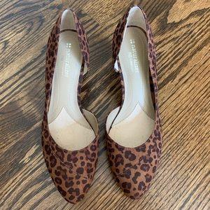 "Naturalizer Shoes - Naturalizer Animal Print Leopard Kitten Heels 2.5"""